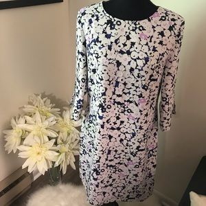 Banana Republic Lined 3/4 Sleeve Dress size 6 NWT